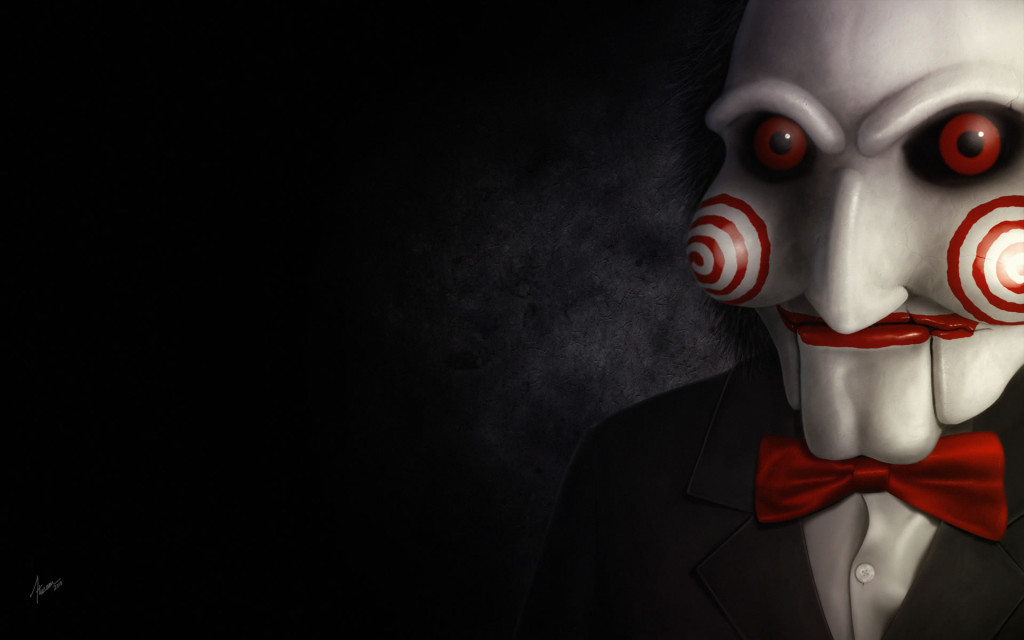 Wallpaper Saw Personajes de Terror