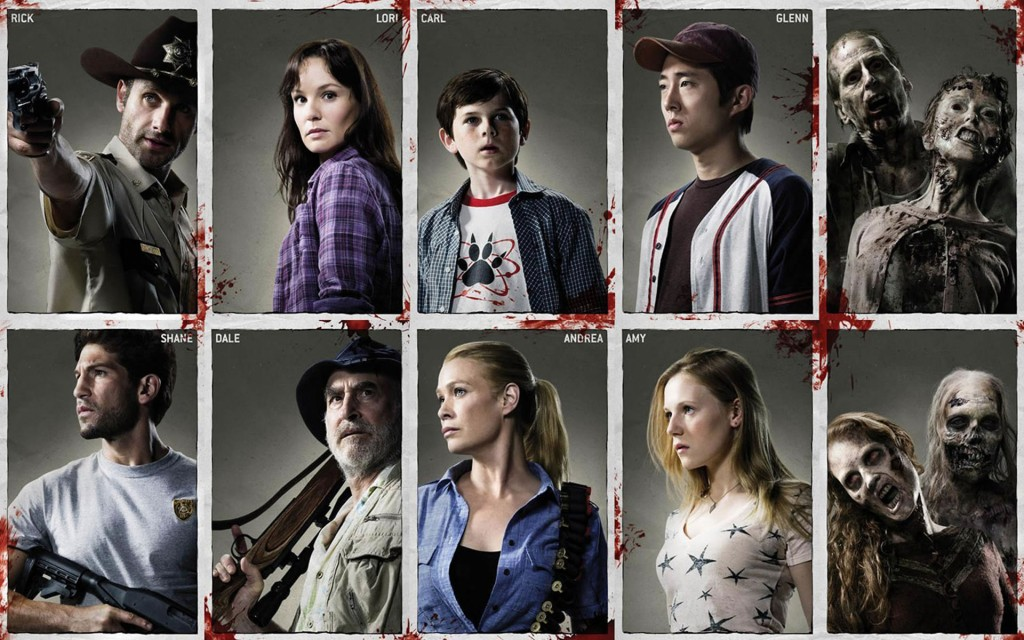 The Walking Dead Wallpaper Personajes